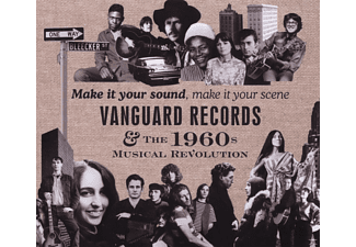 VARIOUS - Vanguard Recors & The 1960s Musical Revolution - (CD)