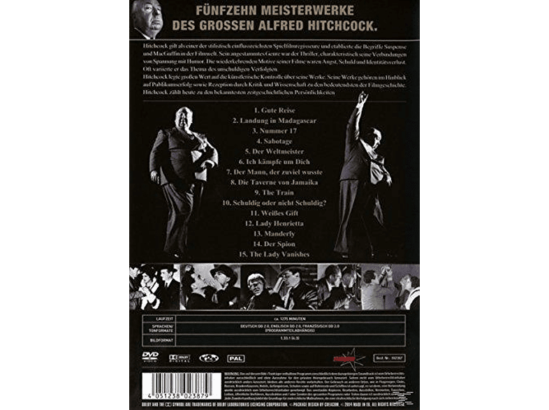 Alfred Hitchcock Collection [Collector's Edition] [DVD]