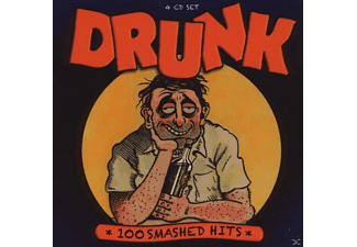 VARIOUS - Drunk-100 Smashed Hits - (CD)