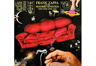 Frank Zappa, The Mothers Of Invention - One Size Fits All - (CD)
