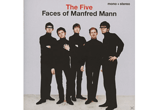 Manfred Mann - The Five Faces Of Manfred Mann [CD]