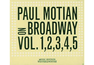 Paul Motian - On Broadway Vol. 1-5 - (CD)