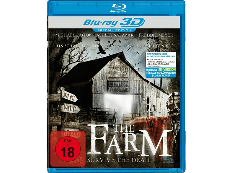 The Farm - Survive the Dead [3D Blu-ray]