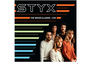 Styx - Grand Illusion Live - (CD)