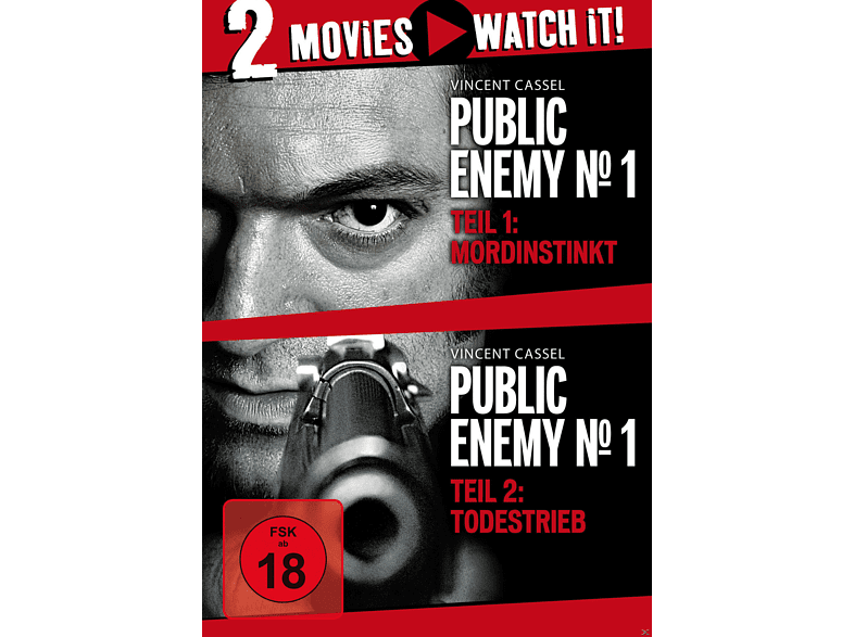 Public Enemy No.1 - Mordinstinkt & Todestrieb - Double Feature [DVD]