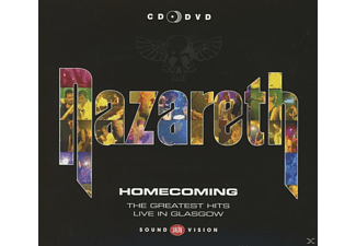 Nazareth - Homecoming-Greatest Hits Live [CD + DVD]