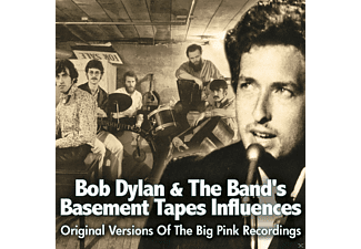 VARIOUS - Bob Dylan & The Band's Basemen Tapes Influences - (CD)