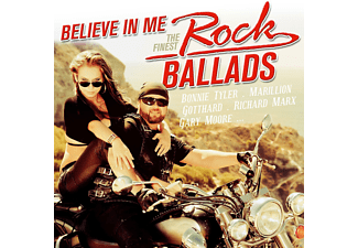VARIOUS - Believe In Me - The Finest Rock Ballads [CD]