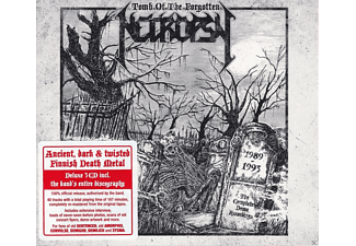 Necropsy - Tomb Of The Forgotten - 1989-1993 The Complete Demo Recordings - (CD)