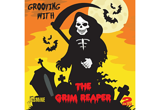 VARIOUS - Grooving With Grim Reaper - (CD)