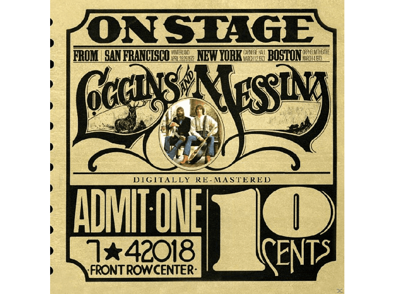Loggins and Messina - On Stage [CD]