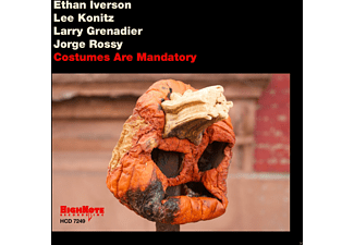 Ethan Iverson, Lee Konitz, Jorge Rossy, Larry Grenadier - Costumes Are Mandatory - (CD)