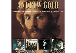 Andrew Gold - Andrew Gold + What's Wrong With This Picture + All This And Heavn Too + Whirlwind... (+Bonus Tracks) - (CD)