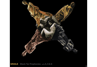 Grails - Black Tar Prophecies Vols.4, 5 & 6 - (CD)