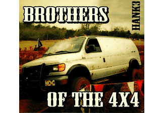 Hank3 - Brothers Of The 4x4 - (CD)