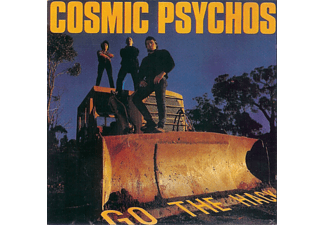 Cosmic Psychos - Go The Hack - (CD)
