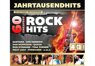 VARIOUS - 60 Greatest Rock Hits - (CD)