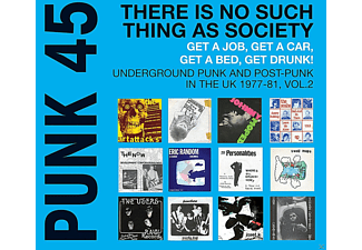 VARIOUS - Punk 45: There Is No Such Thing As Society - (CD)