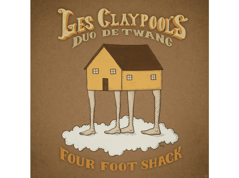 Les Claypool's Duo De Twang - Four Foot Shack [CD]