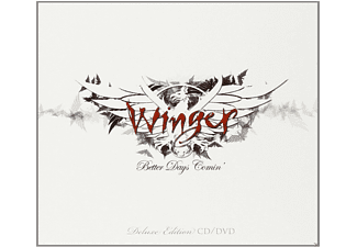Winger - Better Days Comin (Ltd. Digipak + Dvd) - (CD + DVD Video)