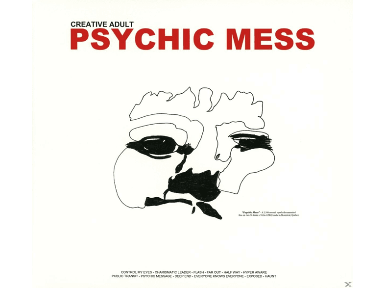 Creative Adult - Psychic Mess [CD]