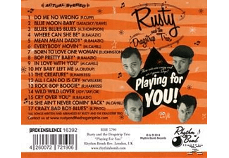Rusty And The Dragstrip Trio - Playing For You - (CD)