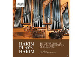 Naji Hakim - Hakim plays Hakim - (CD)