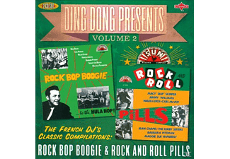Smokey Joe Baugh, Barbara Pittman, Miller Sisters, Dean Beard, Harold Jenkins, Carl Perkins, Malcolm Yelvington, Wade & Dick, Macy Skipper, Jimmy Williams, Carl Mcvoy, Jean Chapel, The Kirby Sisters, Maggie Sue Wimberly - Ding Dong Presents Volume 2: Rock Bop Boogie & Rock And Roll Pills - (CD)