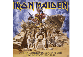 Iron Maiden - Somewhere Back In Time - The Best Of 1980-1989 - (CD)