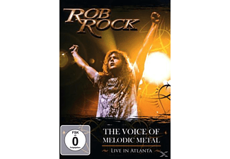 Rob Rock - The Voice Of Melodic Metal Live In Atlanta - (CD + DVD)