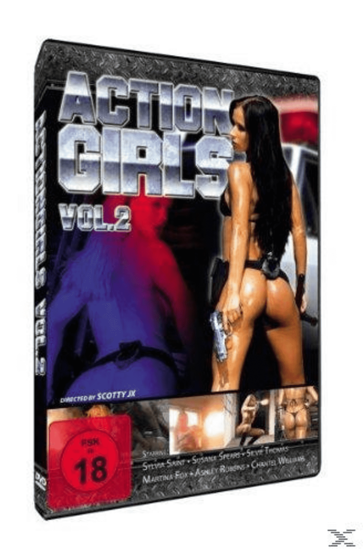 ACTIONGIRLS 2 auf DVD