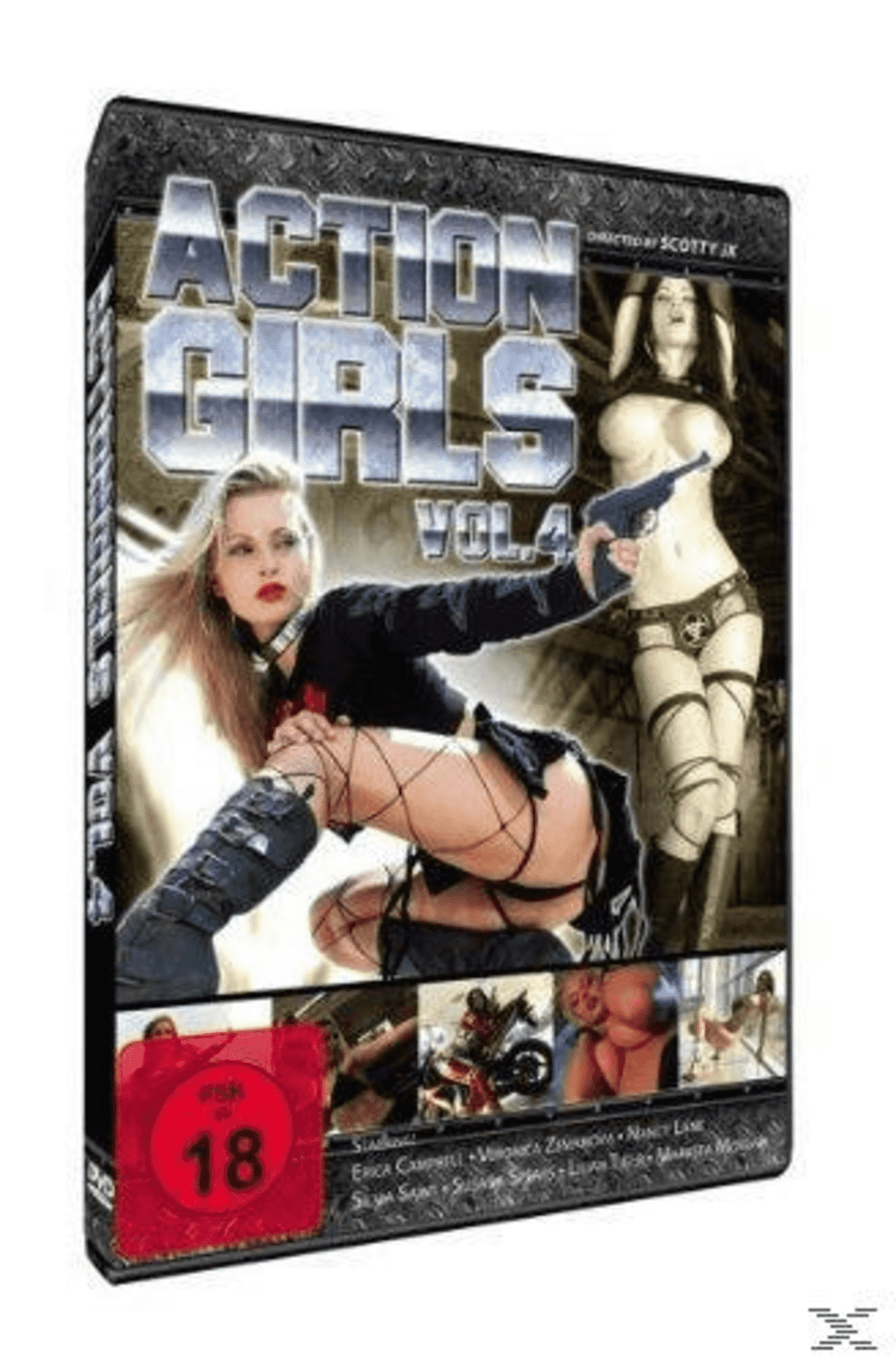 ACTIONGIRLS 4 auf DVD