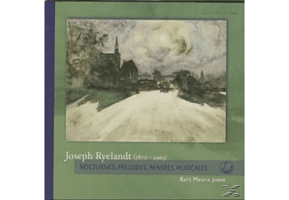 Bart Meuris - Nocturnes,Preludes,Pensees Musicales - (CD)