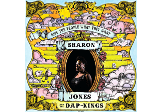 Sharon & The Dap-kings Jones - Give The People What They Want (Lp+Mp3) - (LP + Download)