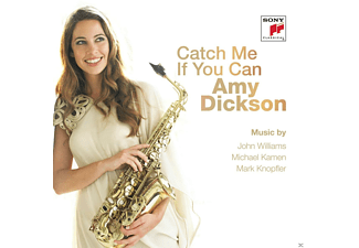 Amy Dickson - Catch Me If You Can - (CD)