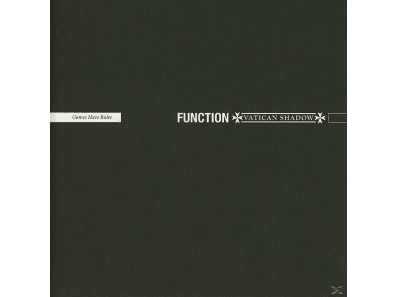 Function & Vatican Shadow - Games Have Rules [CD]