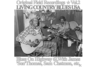 Blues On Highway 61 - Original Field Recordings Vol.2-L - (Vinyl)