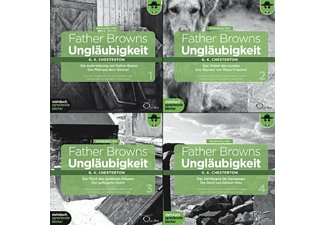 Father Browns Ungläubigkeit Vol. 1-4 - 8 CD - Krimi/Thriller