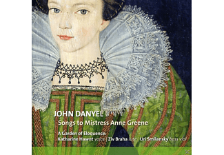 A Garden Of Eloquence - Songs For Mistress Ann Greene - (CD)
