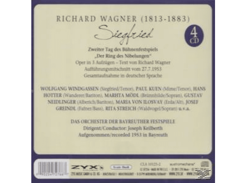 Joseph Keilberth - Siegfried [CD]