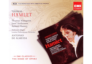 Thomas Hampson, Ambrosian Singers, The London Philharmonic Orchestra, Ramey Samuel, June Anderson - Hamlet - (CD + CD-ROM)