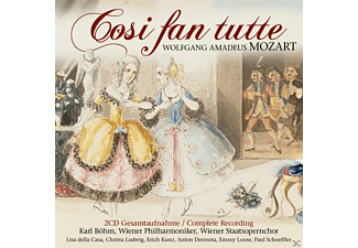 Wiener Philharmoniker - Cosi Fan Tutte (Ga) - (CD)