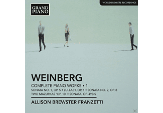 Allison Brewster Franzetti - Weinberg : Complete Piano Works 1 - (CD)