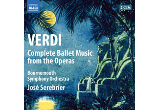 Bournemouth Symphony Orchestra, José Serebrier - Complete Ballet Music From The Operas - (CD)
