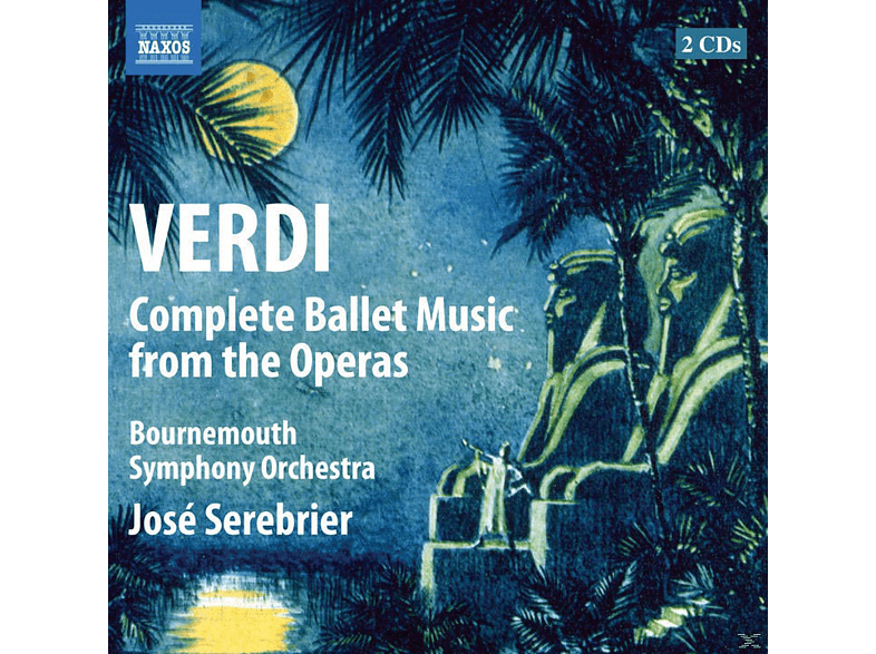Bournemouth Symphony Orchestra, José Serebrier - Complete Ballet Music From The Operas [CD]