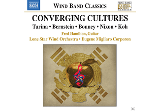 Lone Star Wind Orchestra, Fred Hamilton - Converging Cultures - Music for Wind Band - (CD)