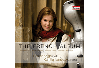 Harriet Krijgh, Kamilla Isanbaeva - The French Album - (CD)