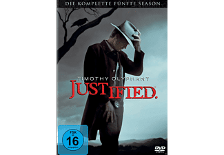 Justified - Staffel 5 - (DVD)