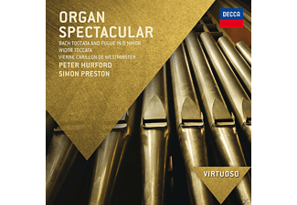 Peter Hurford, Preston Simon - Organ Spectacular [CD]