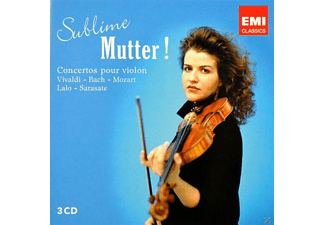Anne-Sophie Mutter - Sublime Mutter! - (CD)